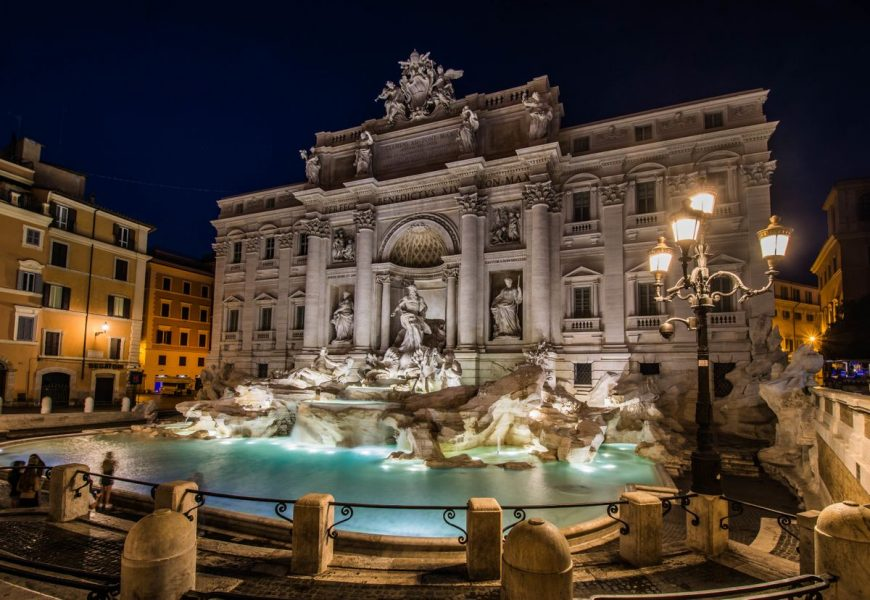 rome by night driving tour