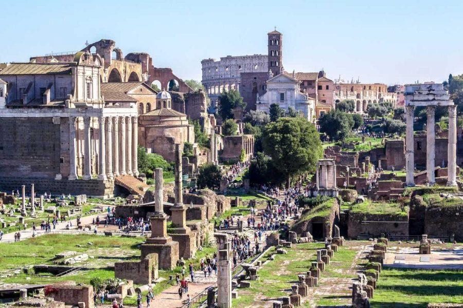 colosseum and roman forum tour